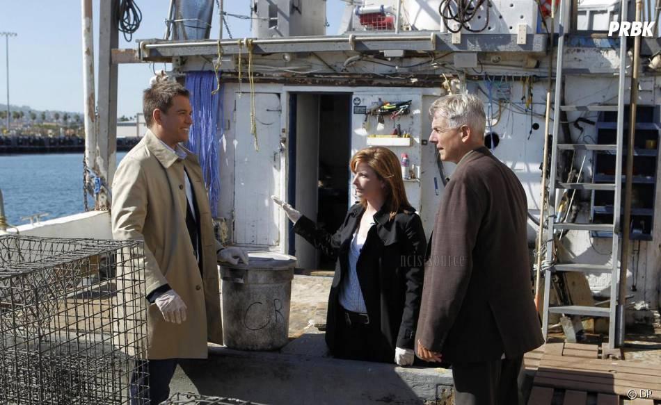 NCIS saison 11 : Gibbs et Tony avec Abigail Borin