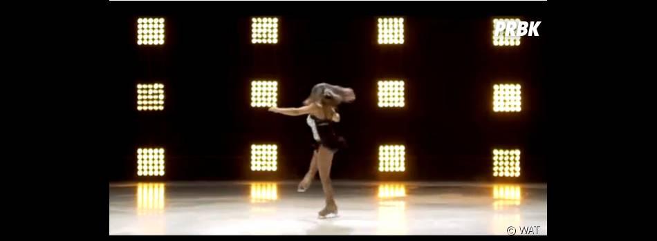 Ice Show : Sarah Abitbol va coacher Clara Morgane et Norbert Tarayre