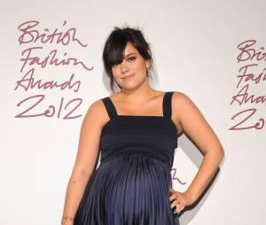 Lily Allen aux Brit Fashion Awards 2012