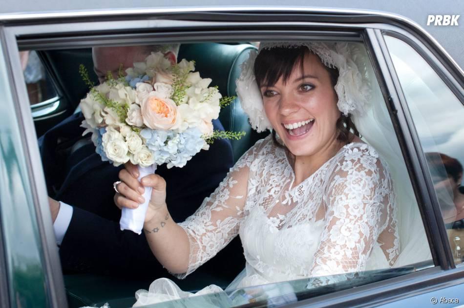 Lily Allen : le jour de son mariage, le 11 juin 2011