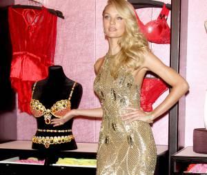 Candica Swanepoel : l'ange Victoria's Secret avec son Royal Fantasy Bra, un soutien-gorge en diamants et rubis à 10 millions de dollars