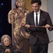 Sacha Baron Cohen : Borat tue une vieille dame aux Britannia Awards 2013