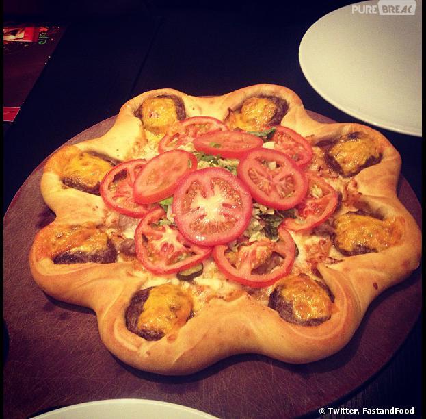 La Majesty Pizza Burger : la nouvelle création culinaire de Pizza Hut
