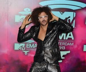 Redfoo sur le tapis rouge des MTV EMA 2013 à Amsterdam, le 10 novembre 2013