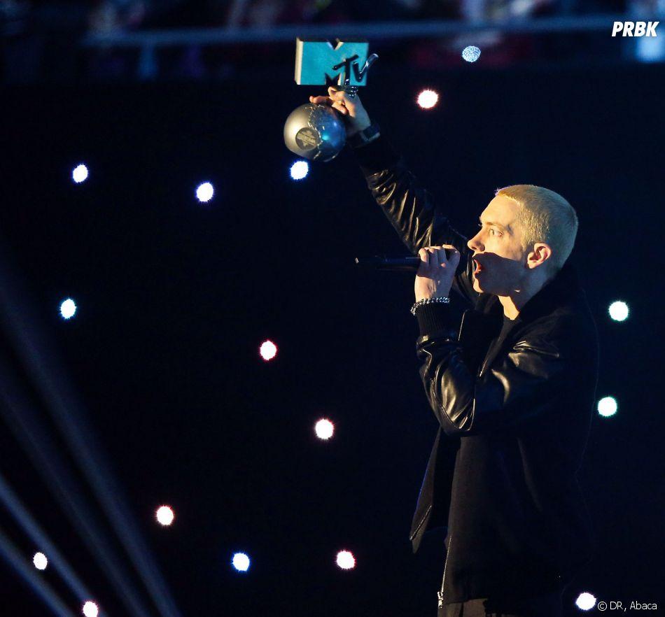 MTV VMA 2013 : Eminem a reçu deux prix pendant la cérémonie