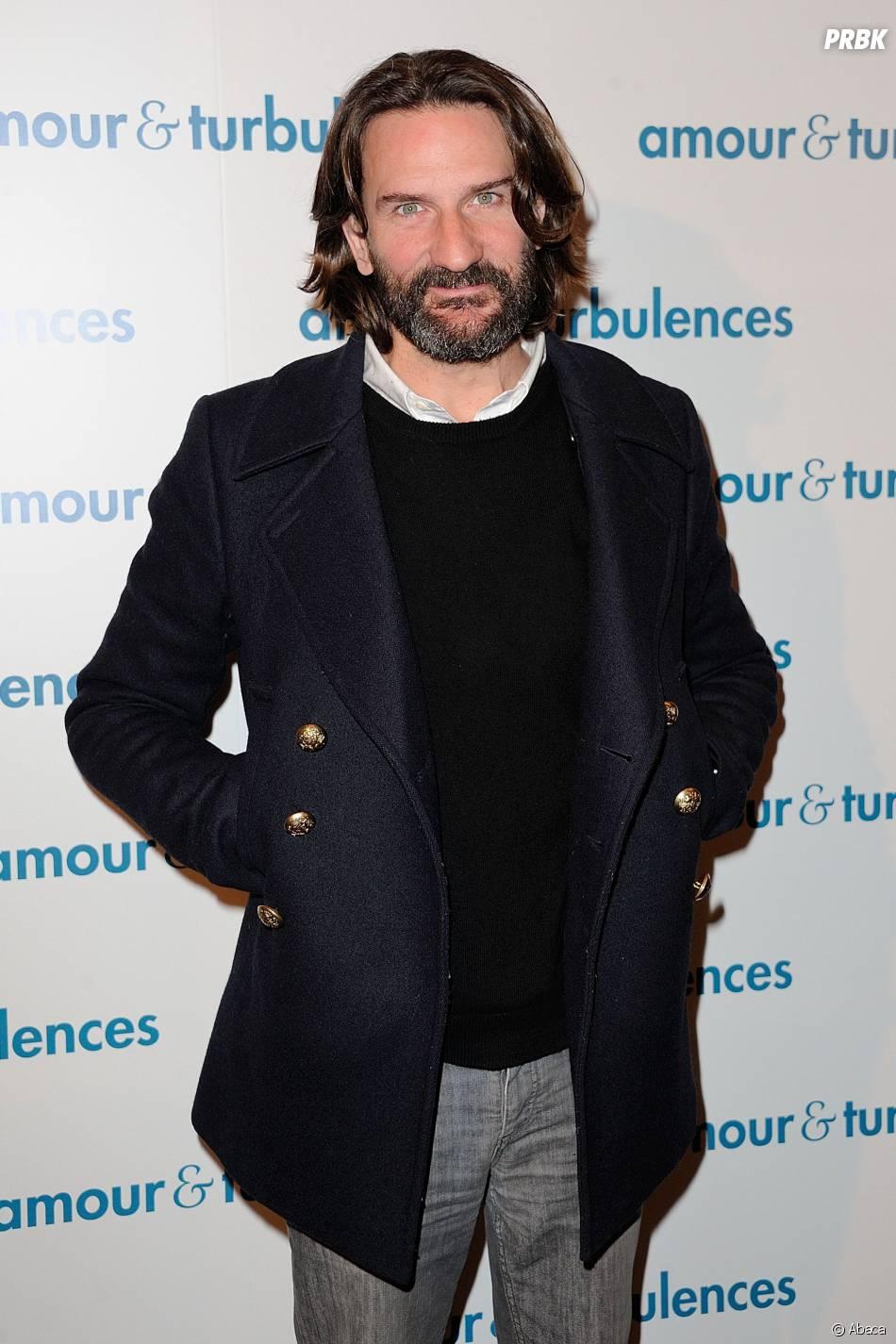 Frédéric Beigbeder à l'avant-premier d'Amour et Turbulences, le 18 mars 2013 à Paris