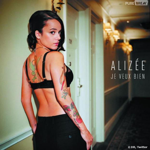 Alizée (Danse avec les stars 4) : La Lolita arbore une Fée clochette dans le dos