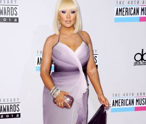 Christina Aguilera en mode Loana aux American Awards 2012