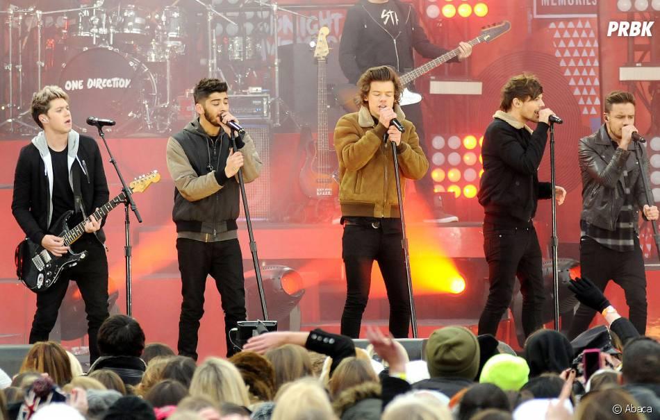 Les One Direction étaient en concert à Central Park à New York le 26 novembre 2013