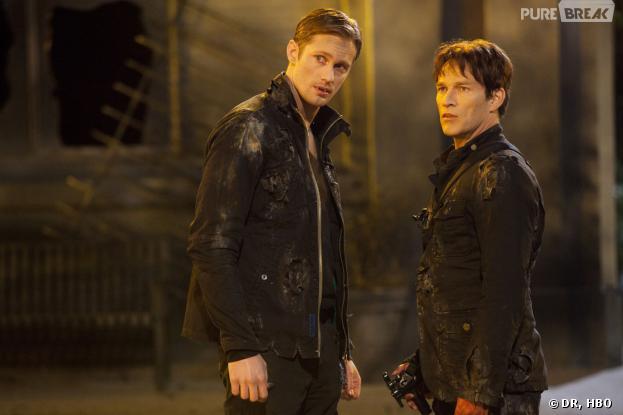 True Blood : Stephen Moyer veut une scène de sexe pour Bill et Eric