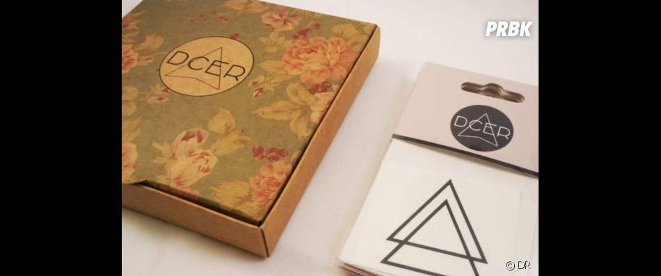 Box de tatouages éphémères, DCER, 15€