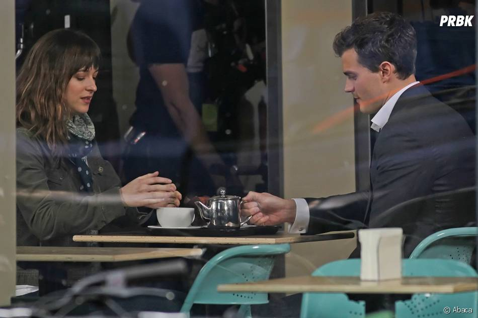 Fifty Shades Of Grey : Dakota Johnson et Jamie Dornan sur le tournage