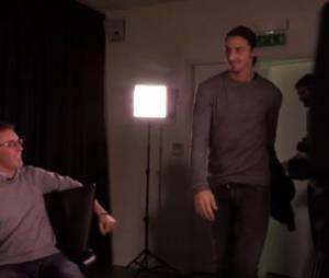 Zlatan Ibrahimovic gâche une interview de Malika Ménard et Laurent Blanc