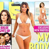 Kim Kardashian : ses formes sont généreuses... mais pas elle