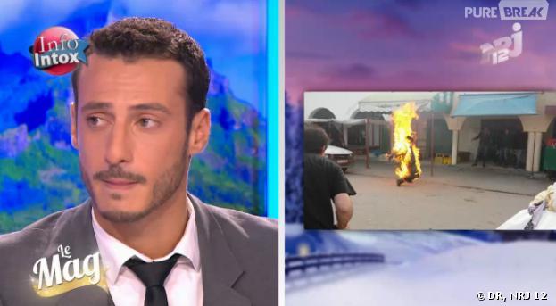 Hollywood Girls 3 : Sébastien Soudais a joué l'homme torche pendant un tournage