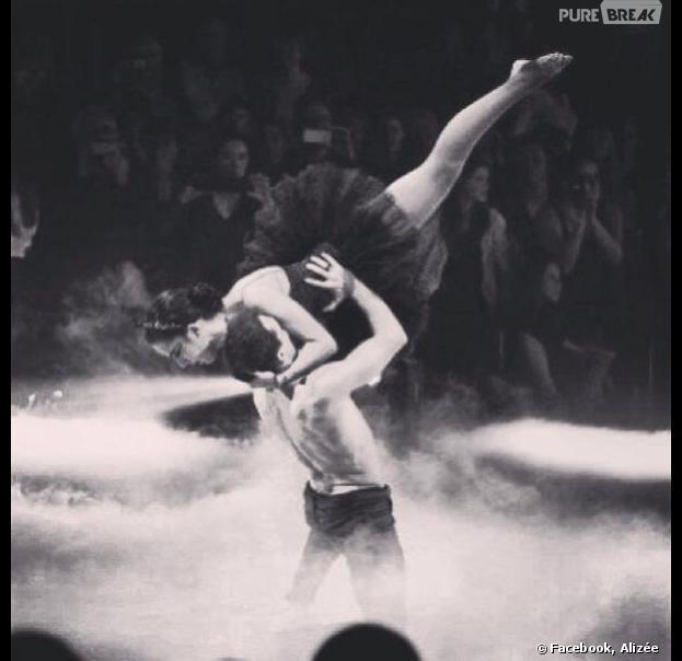 Alizée et Grégoire Lyonnet gagnants de la première date de la tournée Danse avec les stars