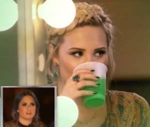 Demi Lovato furieuse dans X Factor US après une blague sur la boisson
