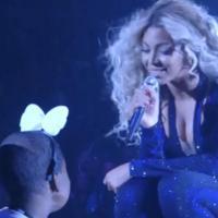 Beyoncé réalise le rêve d'une enfant malade : la vidéo qui va vous faire verser une larme