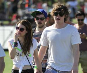 Emma Roberts et Evan Peters au festival de Coachella 2013