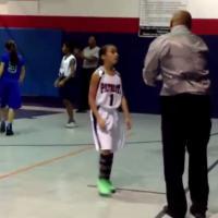 Basket : à seulement 9 ans, elle met déjà ses aînés dans le vent