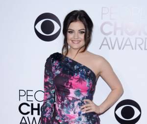 Lucy Hale aux People's Choice Awards, le 8 janvier 2014 à Los Angeles