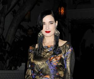 Dita Von Teese au Chateau Marmont, le 9 janvier 2014 à Los Angeles