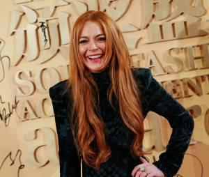Lindsay Lohan : faux pas fashion en Chine, le 6 janvier 2014