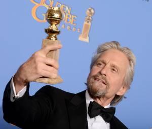 Michael Douglas aux Golden Globes, le 12 janvier 2014 à Los Angeles