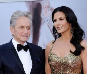 Michael Douglas et Catherine Zeta-Jones aux Oscars 2013