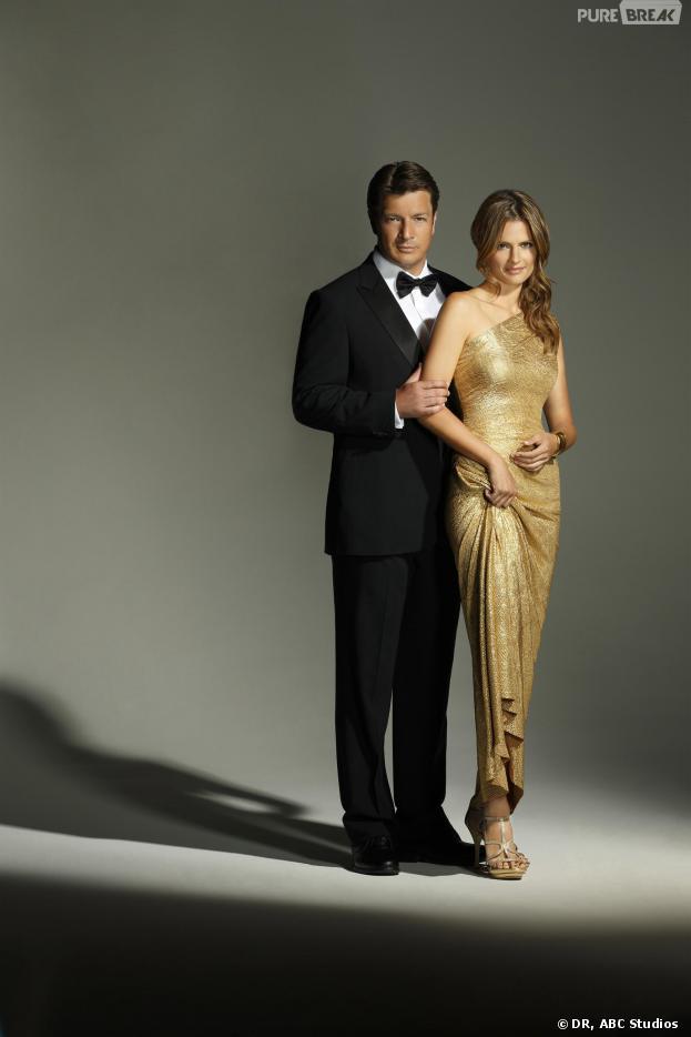 Castle saison 6 : premier aperçu d'une robe blanche