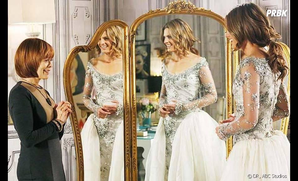 Castle saison 6, épisode 14 : Beckett a-t-elle trouvé sa robe de mariée ?