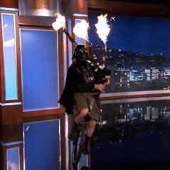[VIDÉO] Dark Vador reconverti en joueur de cornemuse pour la télé américaine