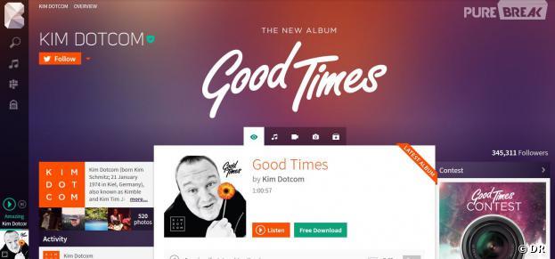 Baboom : Kim Dotcom dévoile son nouveau service de streaming musical