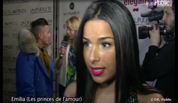 Les Princes de l'amour : Emilia est contente d'être comparée à Ayem Nour