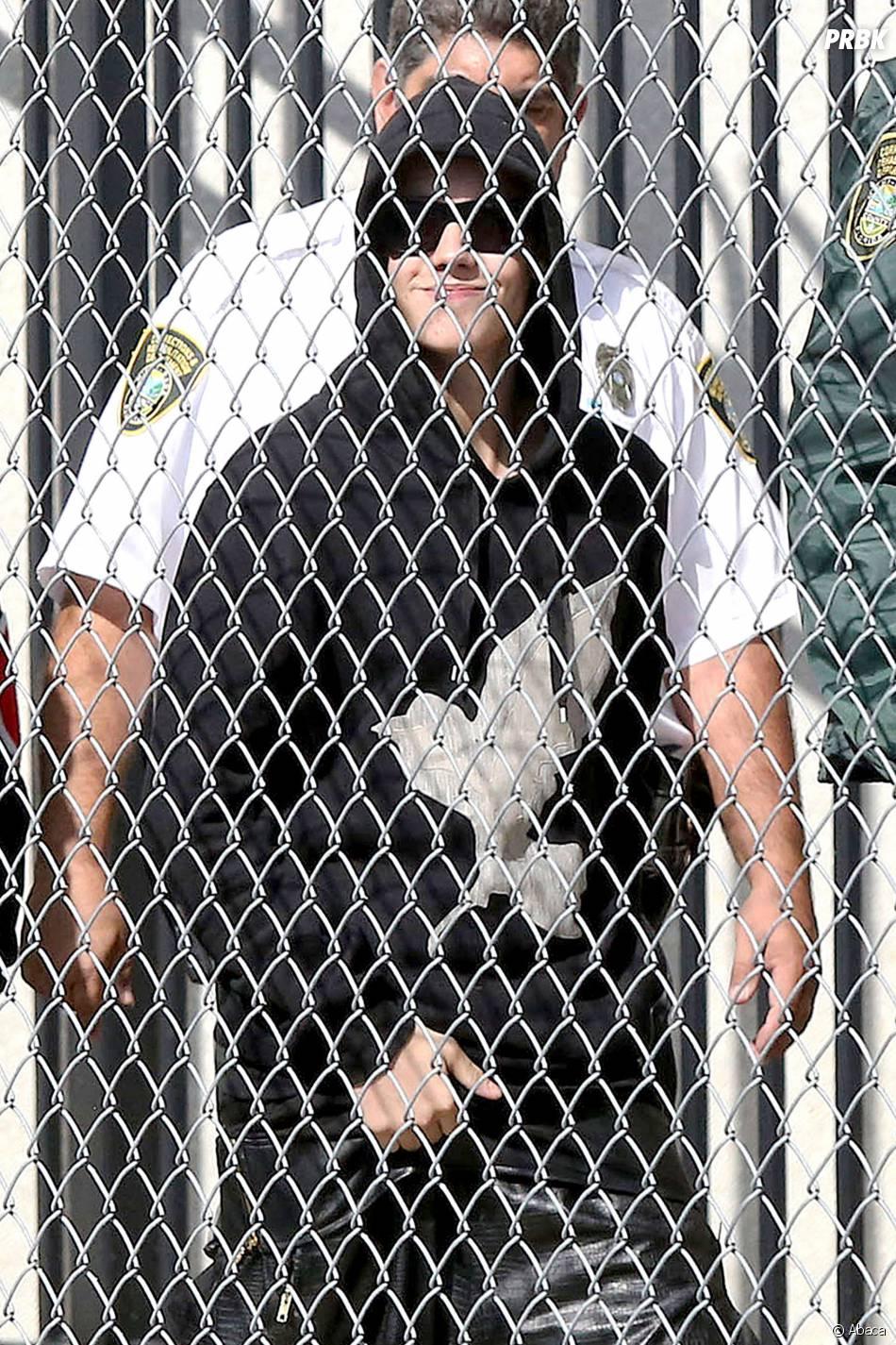 Justin Bieber quitte son centre de détention le 23 janvier 2014