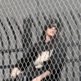 Justin Bieber derrière les grillages de son centre de détention le 23 janvier 2014