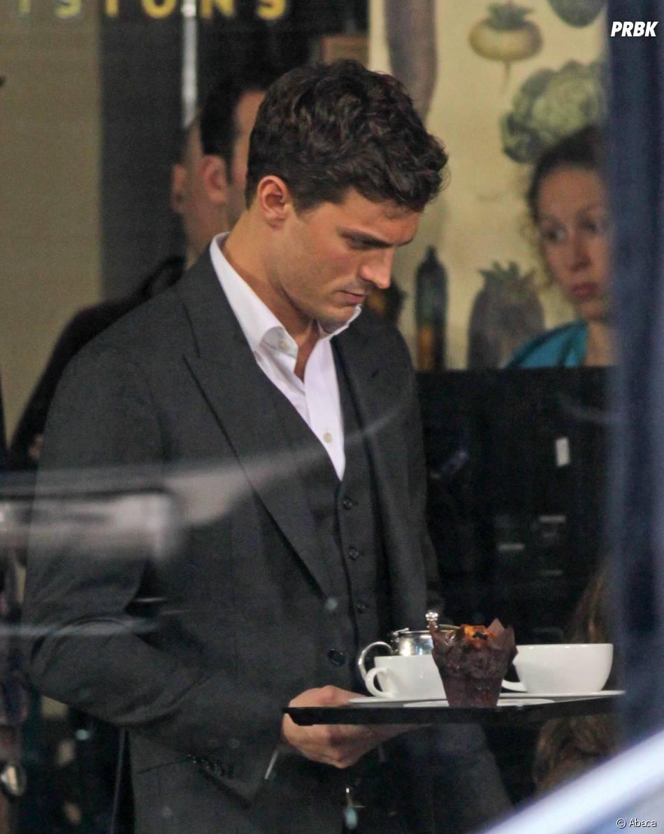 Fifty Shades Of Grey : Jamie Dornan dans la peau de Christian Grey sur le tournage