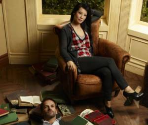 Elementary saison 1 : Lucy Liu et Jonny Lee Miller
