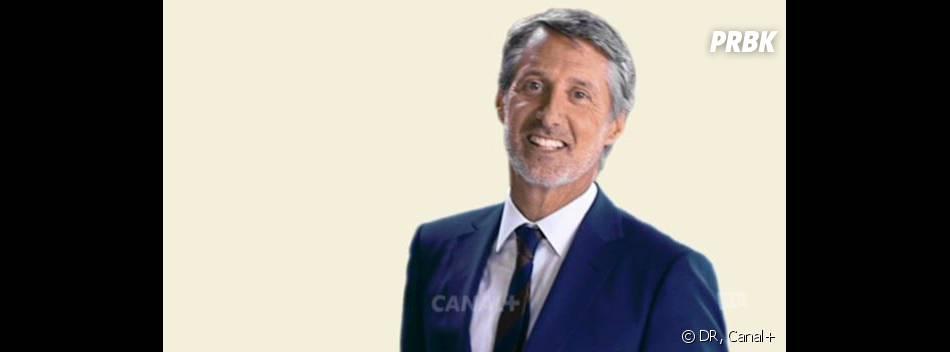 Antoine de Caunes anime le Grand Journal de Canal+