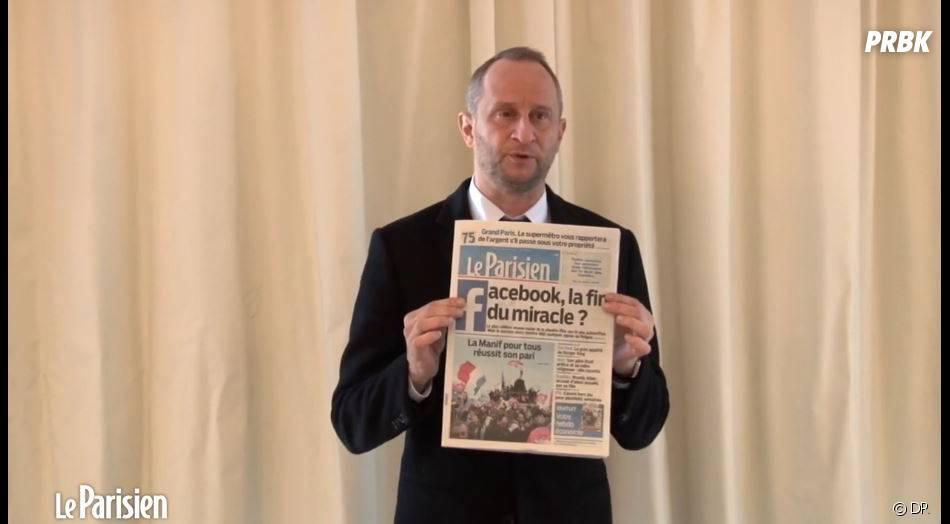 Benoît Poelvoordes'est emporté contre la Manif pour tous lors d'une interview avec Le Parisien