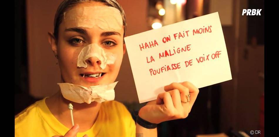 Marion Séclin n'a pas peur du ridicule dans ses vidéos Mad Gyver