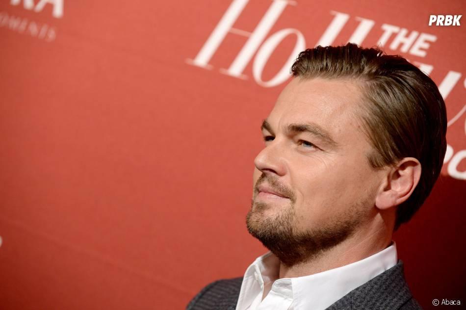 Leonardo DiCaprion à la soirée Hollywood Reporter Nominees Night le 10 février 2014