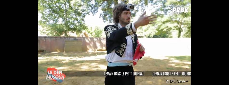 Le Défi Musqua : Maxime Musqua s'est incrusté sur le plateau de Nouvelle Star le 13 février 2013