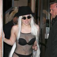 Lady Gaga à moitié nue à New-York : de retour dans le game de l'exhib