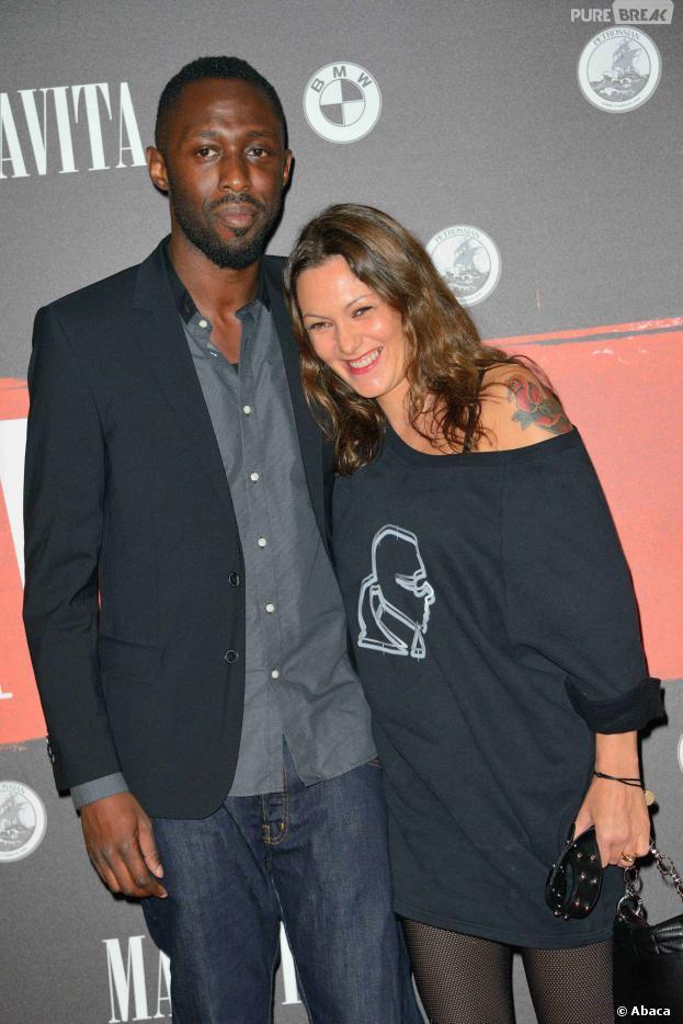 Thomas Ngijol et sa compagne Karole Rocher attendent un enfant