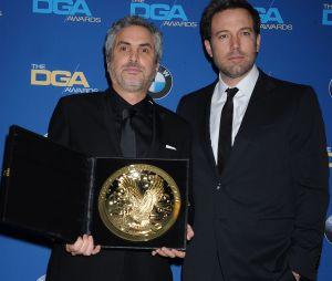 Alfonso Cuaron et Ben Affleck à la cérémonie des DGA Awards le 25 janvier 2014 à Los Angeles