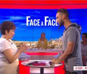 La Fouine : Roselyne Bachelot rappe avec lui dans le Grand 8 le 20 février 2014
