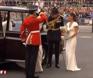 Pippa Middleton a plaisanté sur sa robe de demoiselle d'honneur