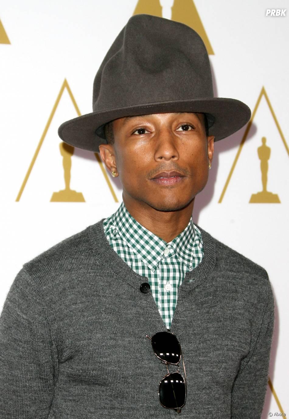 """Pharrell Williams est passé par la France pour la promo de son album """"G I R L"""""""