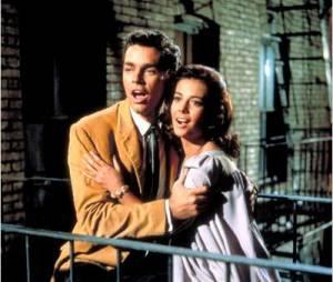 West Side Story :Richard Beymer et Natalie Wood dans les rôles de Tony et Maria